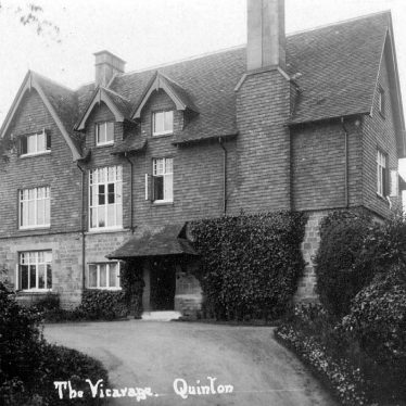Quinton, Lower.  Vicarage