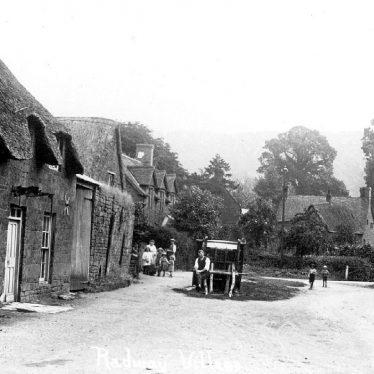 Radway.  Village street