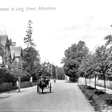 Atherstone.  Long Street, entrance