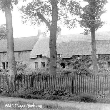 Radway.  Old cottages