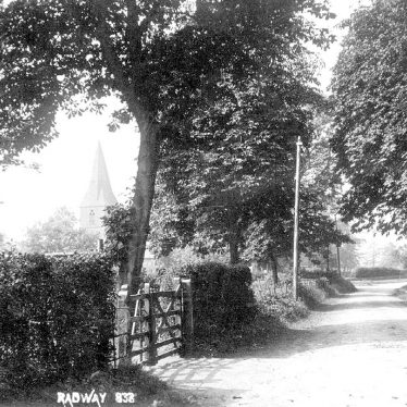 Radway.  Country lane