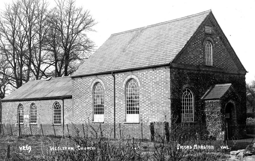 Priors Marston Wesleyan Church.  1920s |  IMAGE LOCATION: (Warwickshire County Record Office)