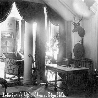 Edgehill.  Upton House, interior