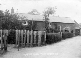Primitive Chapel, Priors Marston.  1920s |  IMAGE LOCATION: (Warwickshire County Record Office)
