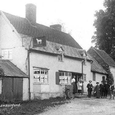 Lowsonford.  White Horse Inn