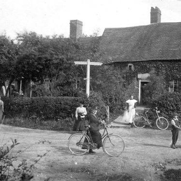 Lowsonford.  Village scene