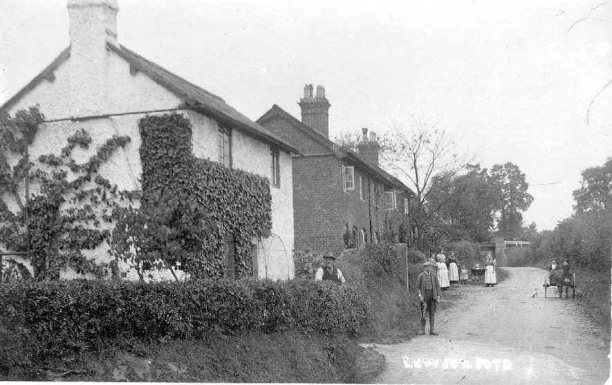 Lowsonford village.  1900s |  IMAGE LOCATION: (Warwickshire County Record Office)