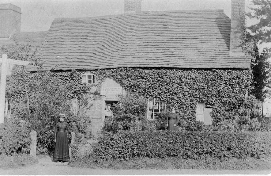 The Post Office  Lowsonford.  1900s |  IMAGE LOCATION: (Warwickshire County Record Office)