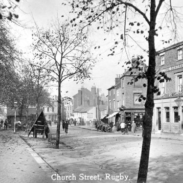 Rugby.  Church Street