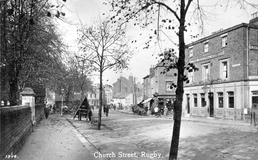 Rugby, Church Street.  1920s |  IMAGE LOCATION: (Warwickshire County Record Office)