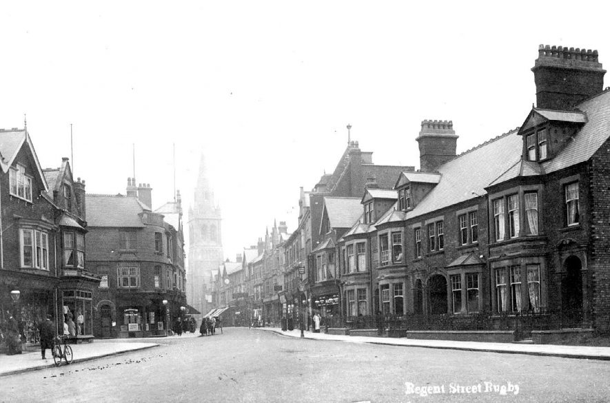 Regent Street, Rugby.  1900s |  IMAGE LOCATION: (Warwickshire County Record Office)