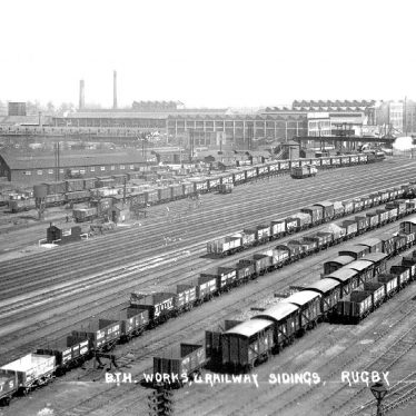 Rugby.  B.T.H. Works and sidings