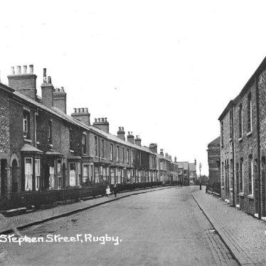 Rugby.  Stephen Street