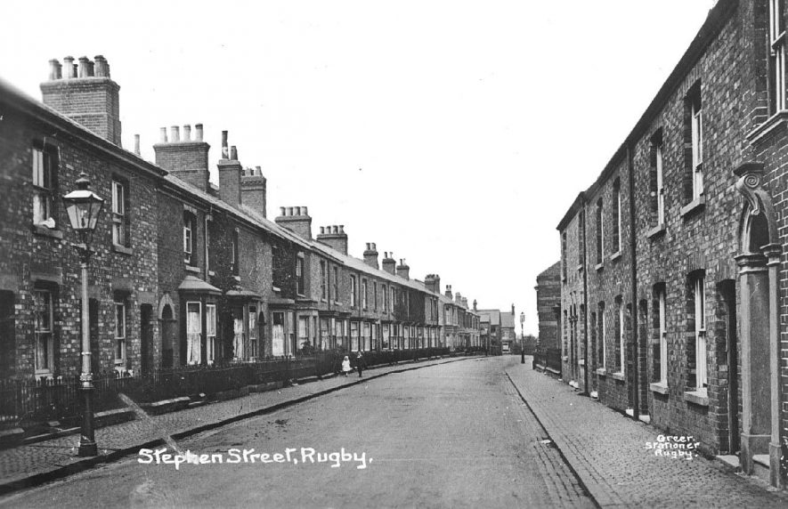 Stephen Street, Rugby.  1910s |  IMAGE LOCATION: (Warwickshire County Record Office)