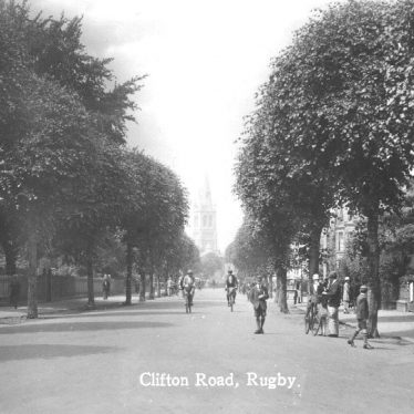 Rugby.  Clifton Road