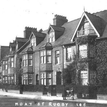 Rugby.  Moat Street (now Regent Place)