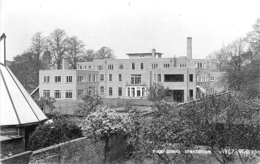 Rugby School sanatorium.  1967 |  IMAGE LOCATION: (Warwickshire County Record Office)