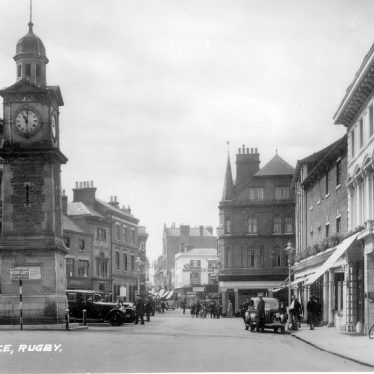 Rugby.  Market Place
