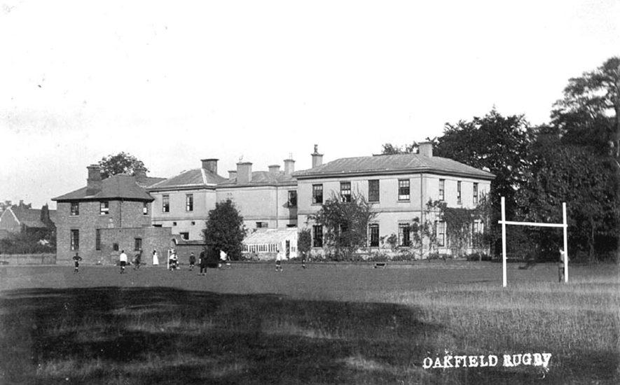 Oakfield Preparatory School  Bilton Road, Rugby.  1900s |  IMAGE LOCATION: (Warwickshire County Record Office)