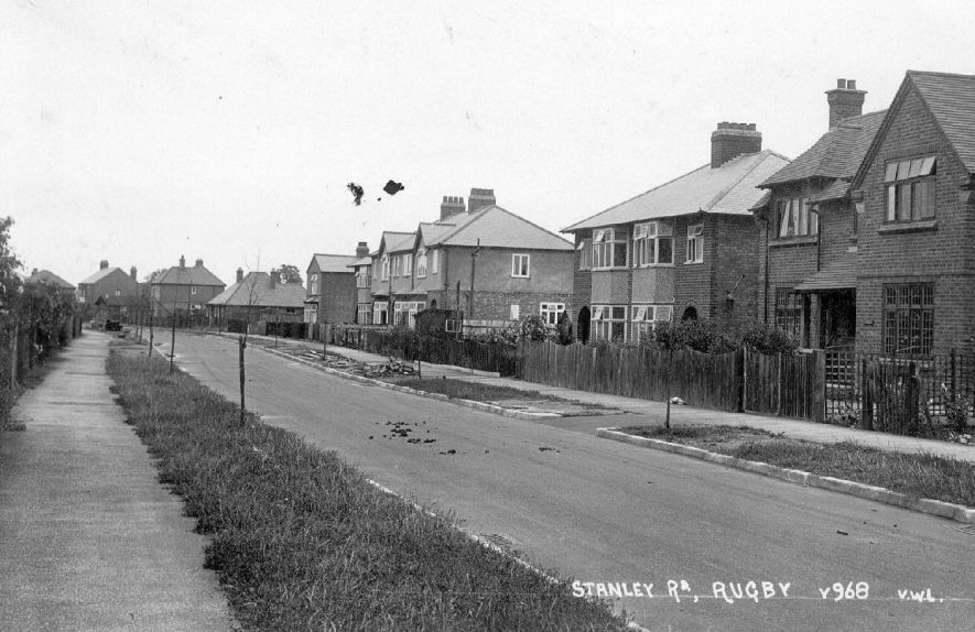 Stanley Road, Rugby.  1920s |  IMAGE LOCATION: (Warwickshire County Record Office)