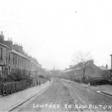 New Bilton.  Lawford Road