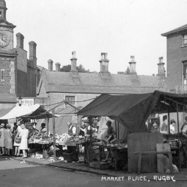 Rugby.  Market Place and Market