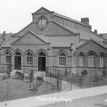 Rugby.  Public baths