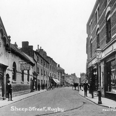 Rugby.  Sheep Street