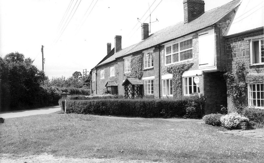 A village scene, Priors Marston.  1960s |  IMAGE LOCATION: (Warwickshire County Record Office)