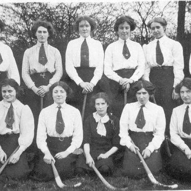 Rugby.  Co-operative Society Ladies Hockey Club