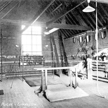 Rugby.  Hillbrow School gymnasium