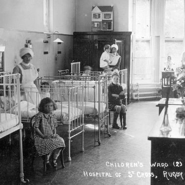 Rugby.  Hospital of St Cross, children's ward