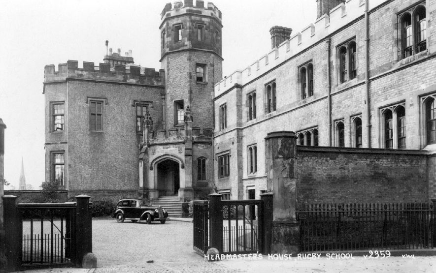Headmaster's House, Rugby School.  1940s |  IMAGE LOCATION: (Warwickshire County Record Office)