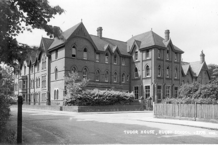 Tudor House, Rugby School, Rugby. postmark 1952. photo. no. v2778 |  IMAGE LOCATION: (Warwickshire County Record Office)