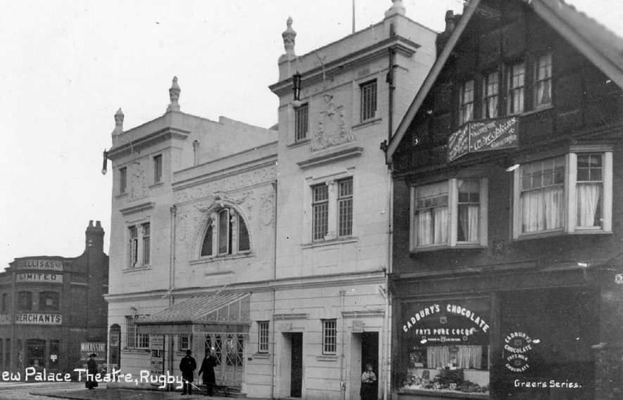 The New Palace Theatre, Railway Terrace, Rugby.  1911 |  IMAGE LOCATION: (Warwickshire County Record Office)