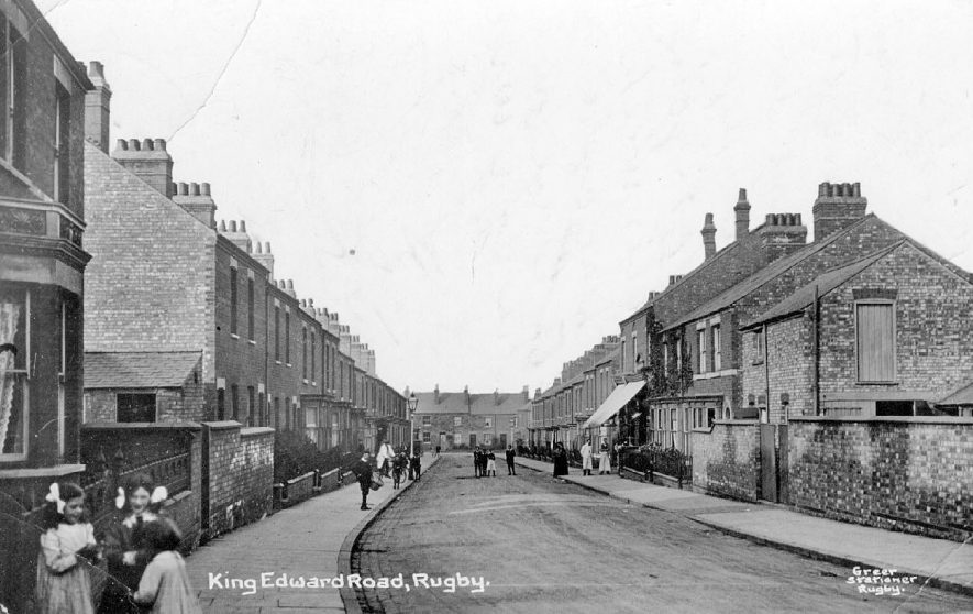 King Edward Road, Rugby.  1915 |  IMAGE LOCATION: (Warwickshire County Record Office)
