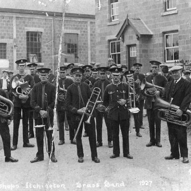 Bishops Itchington.  Brass Band
