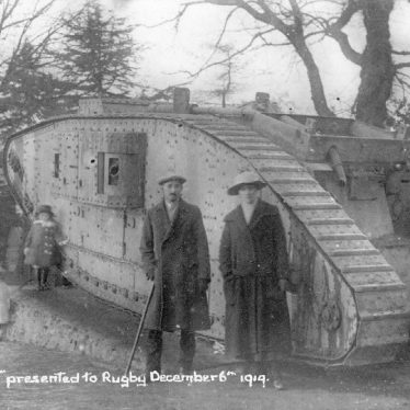 Coventry and Rugby's Memorials to World War One: Tanks for the Memories