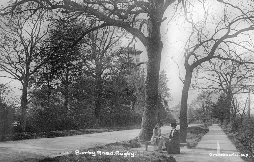 Barby Road, Rugby.  1910s |  IMAGE LOCATION: (Warwickshire County Record Office)