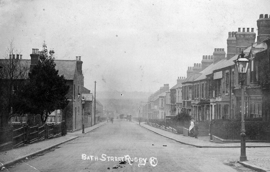Bath Street, Rugby.  1915 |  IMAGE LOCATION: (Warwickshire County Record Office)