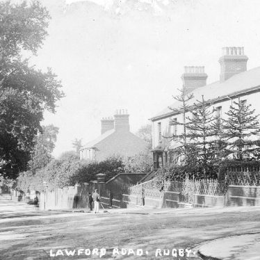 Rugby.  Lawford Road