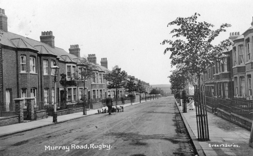 Murray Road, Rugby.  1910s |  IMAGE LOCATION: (Warwickshire County Record Office)