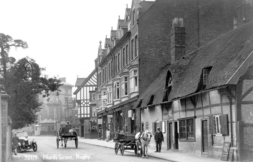 North Street, Rugby.  1920s |  IMAGE LOCATION: (Warwickshire County Record Office)