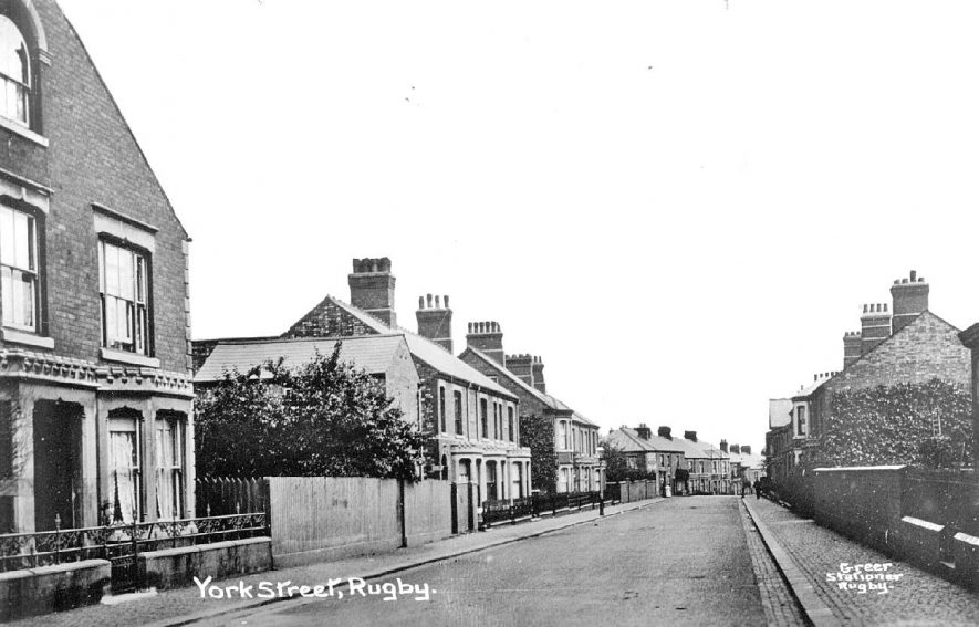 York Street, Rugby.  1920s |  IMAGE LOCATION: (Warwickshire County Record Office)
