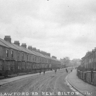 Rugby.  Lawford Road, New Bilton
