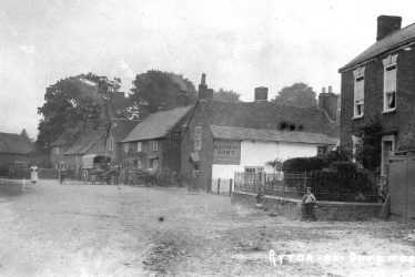 Then and Now: The Blacksmith's Arms, Ryton on Dunsmore