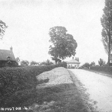 Dunnington.  Village street