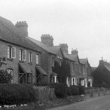 Salford Priors.  Street scene