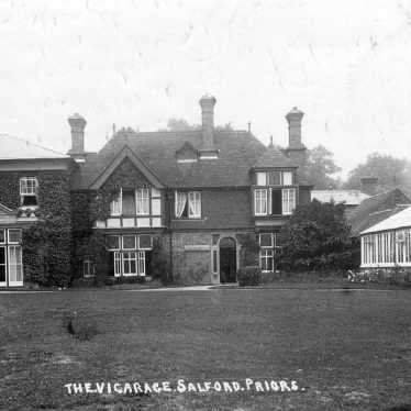 Salford Priors.  Vicarage