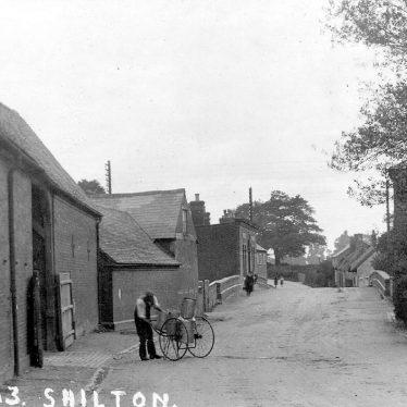 Shilton.  Street scene